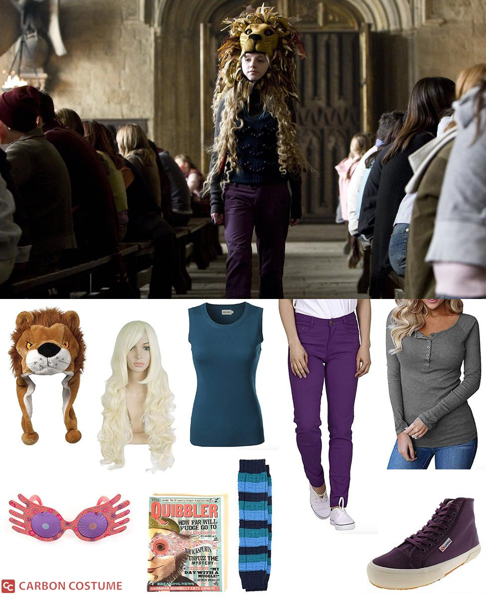 Lion-Hat Luna Lovegood from Order of the Phoenix Cosplay Guide