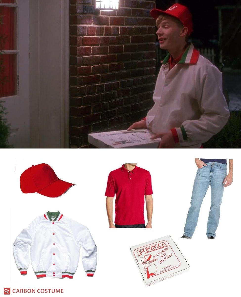 Little Nero's Pizza Delivery Guy from Home Alone Cosplay Guide