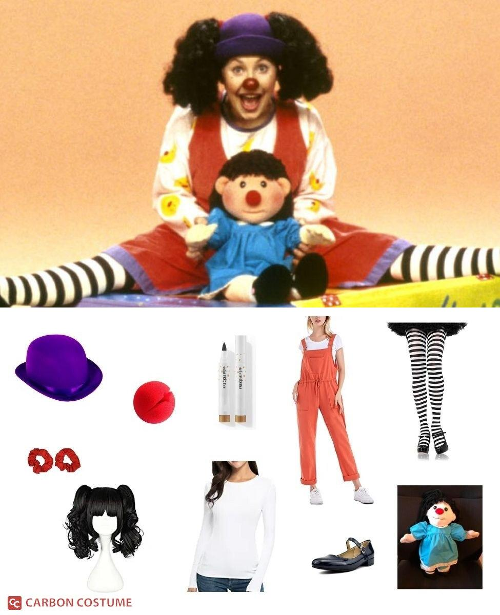 Loonette the Clown from The Big Comfy Couch Cosplay Guide
