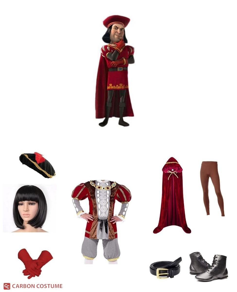 Lord Farquaad from Shrek Cosplay Guide