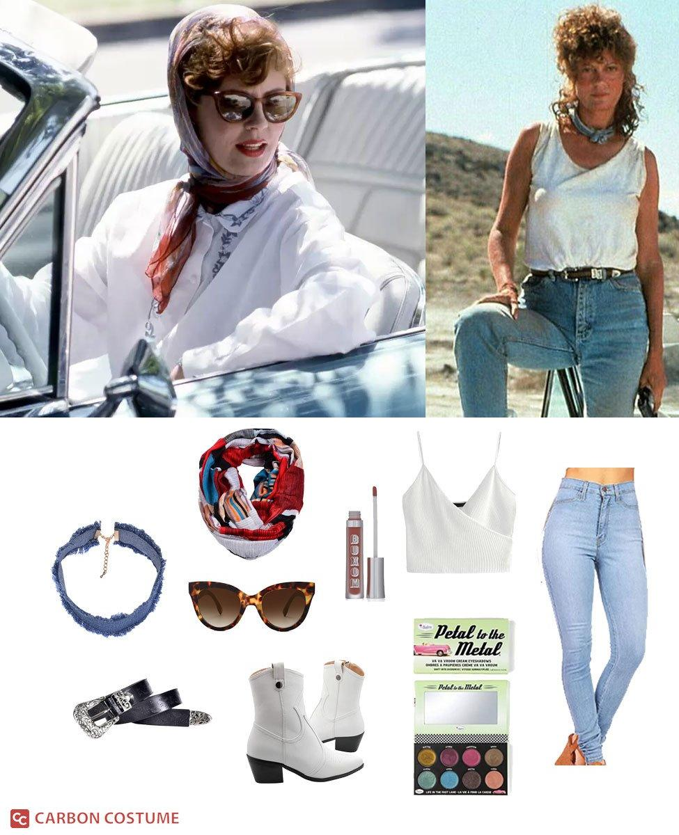 Louise Elizabeth Sawyer from Thelma and Louise Cosplay Guide