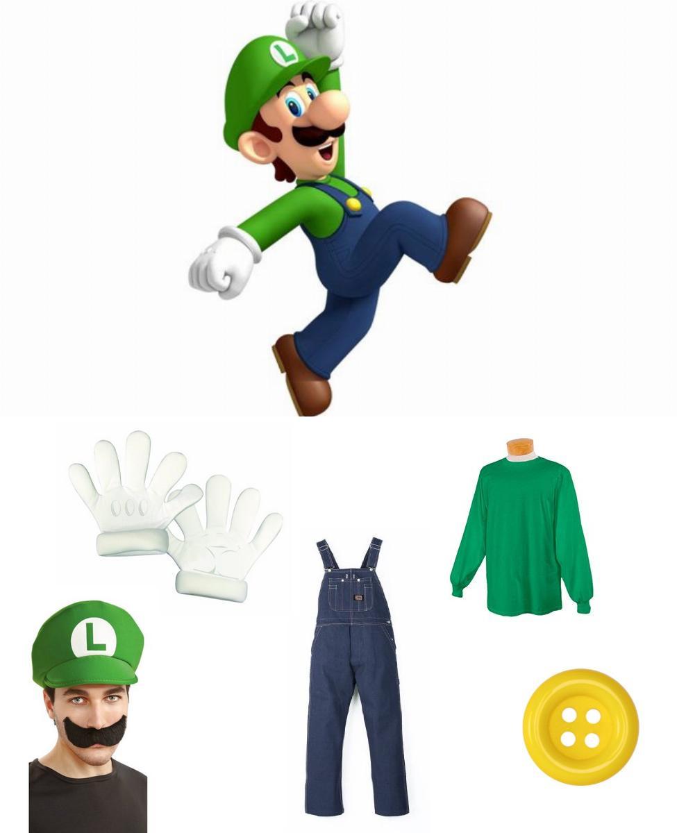 Luigi Cosplay Guide