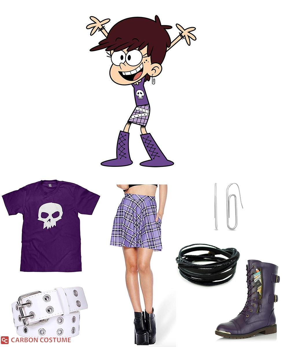Luna Loud from The Loud House Cosplay Guide