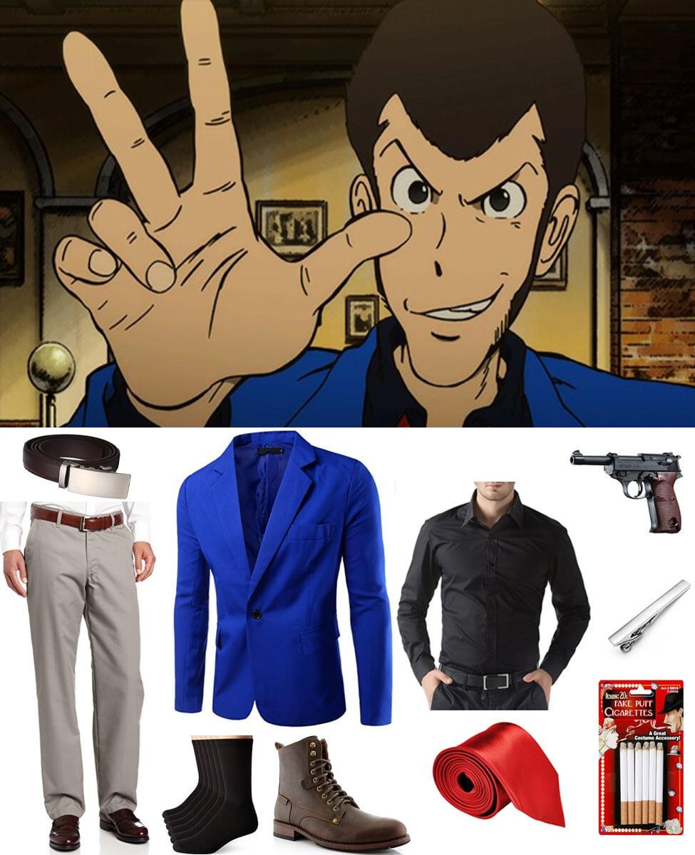 Lupin III Blue Jacket Series Version Cosplay Guide
