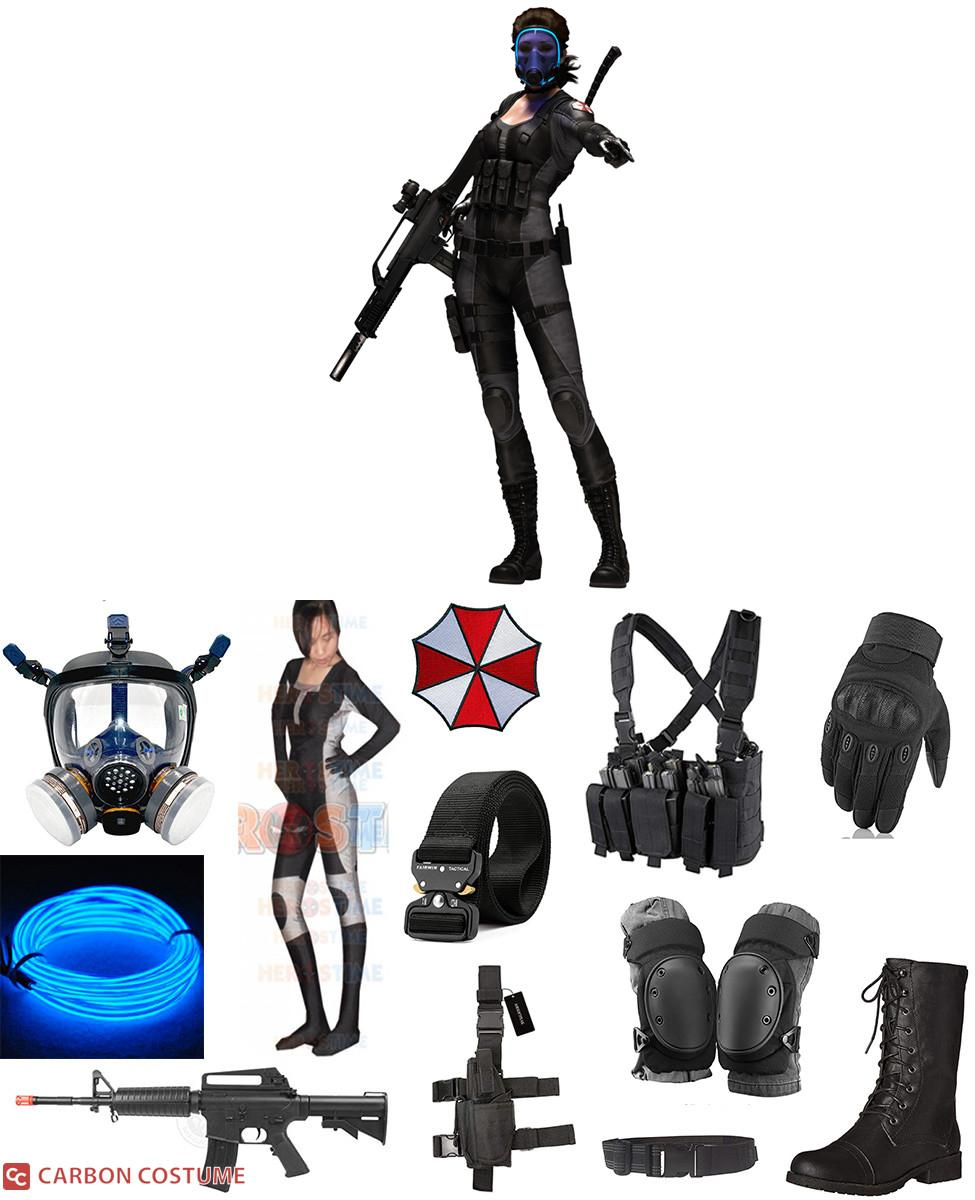 Lupo from Resident Evil Cosplay Guide