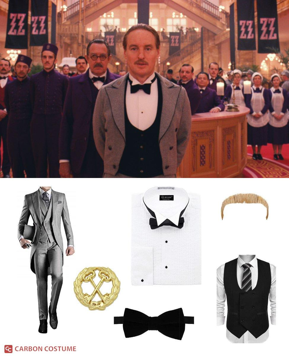 M. Chuck from The Grand Budapest Hotel Cosplay Guide