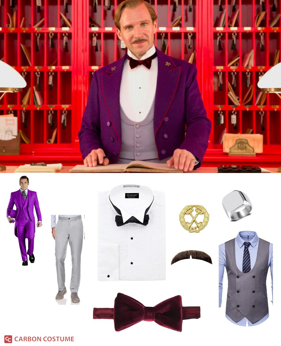 M. Gustave from The Grand Budapest Hotel Cosplay Guide