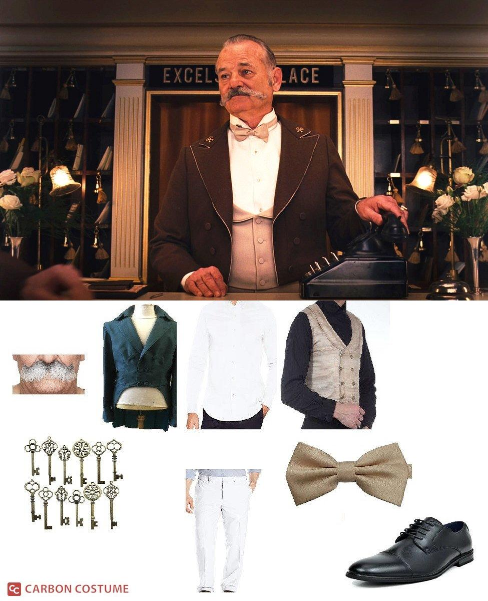M. Ivan from The Grand Budapest Hotel Cosplay Guide
