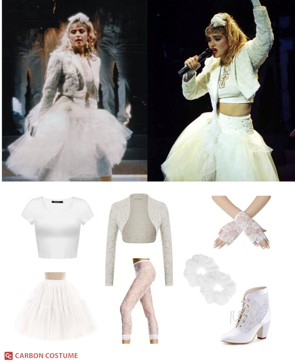 Madonna from The Virgin Tour Cosplay Guide