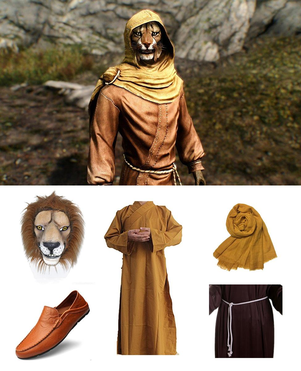 M'aiq the Liar from Skyrim Cosplay Guide