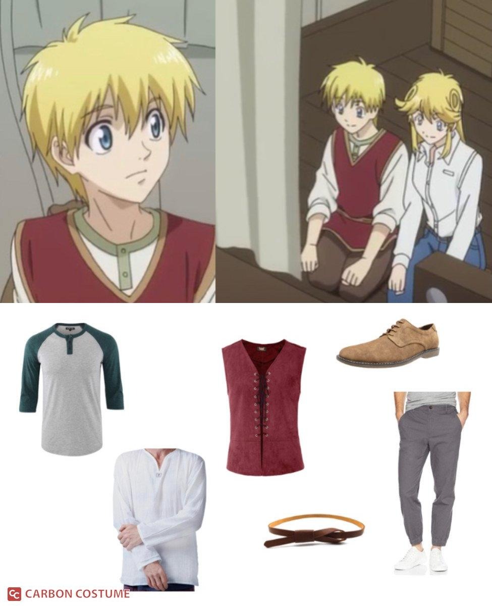 Majic Lin from Sorcerous Stabber Orphen Cosplay Guide