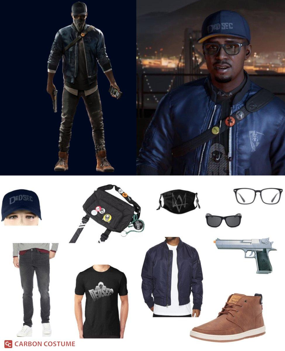 Marcus Holloway from Watch Dogs 2 Cosplay Guide