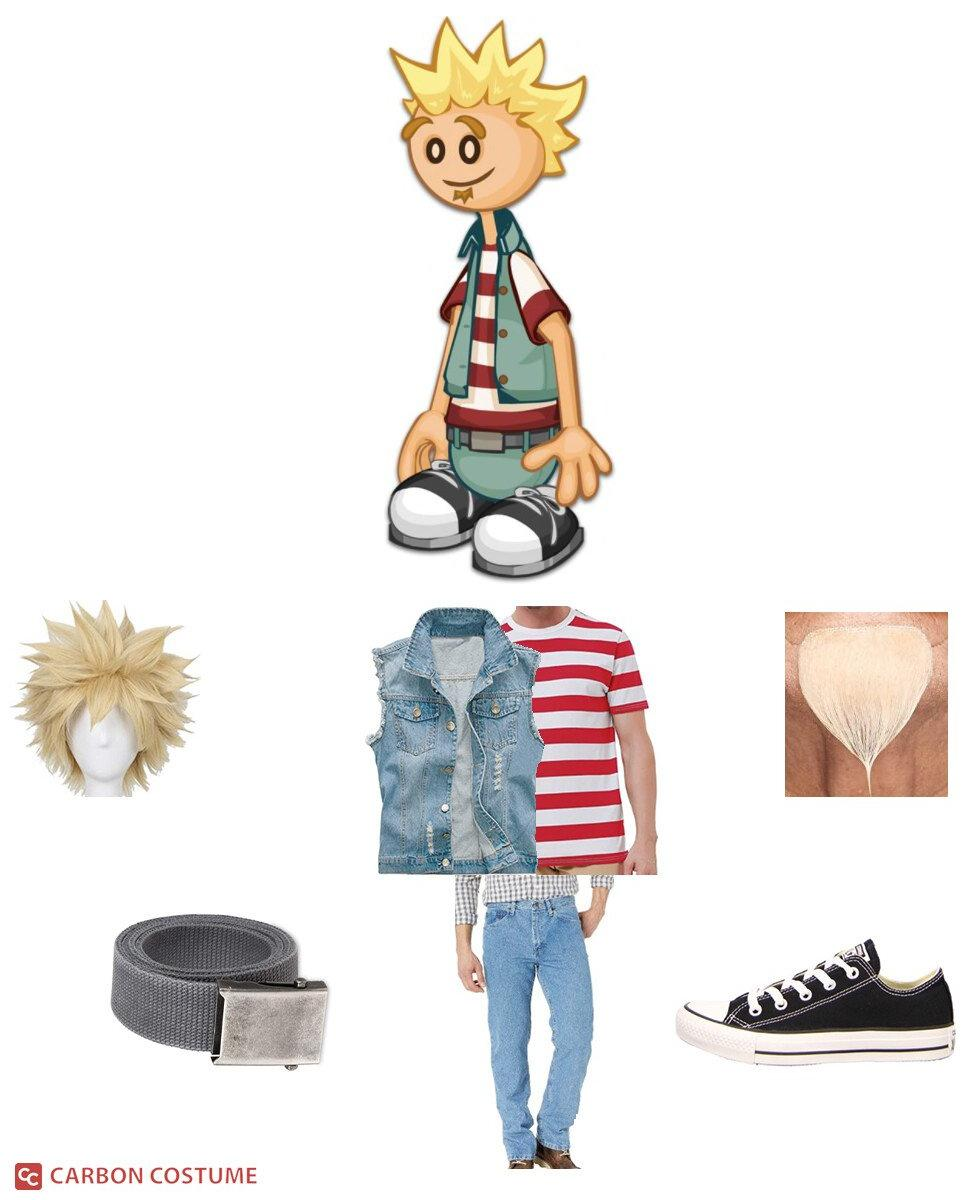 Marty from Papa Louie Cosplay Guide