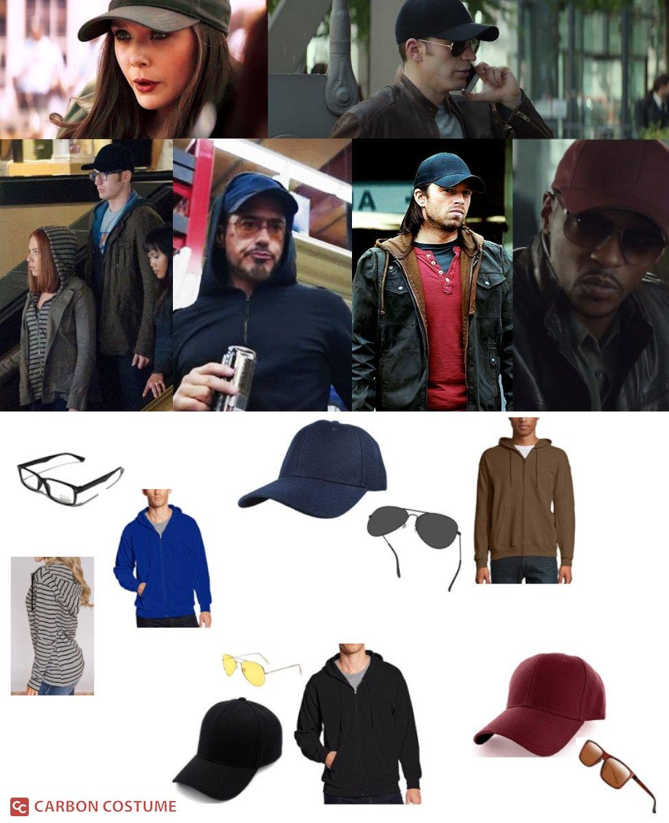 Marvel Civilian Disguise Cosplay Guide