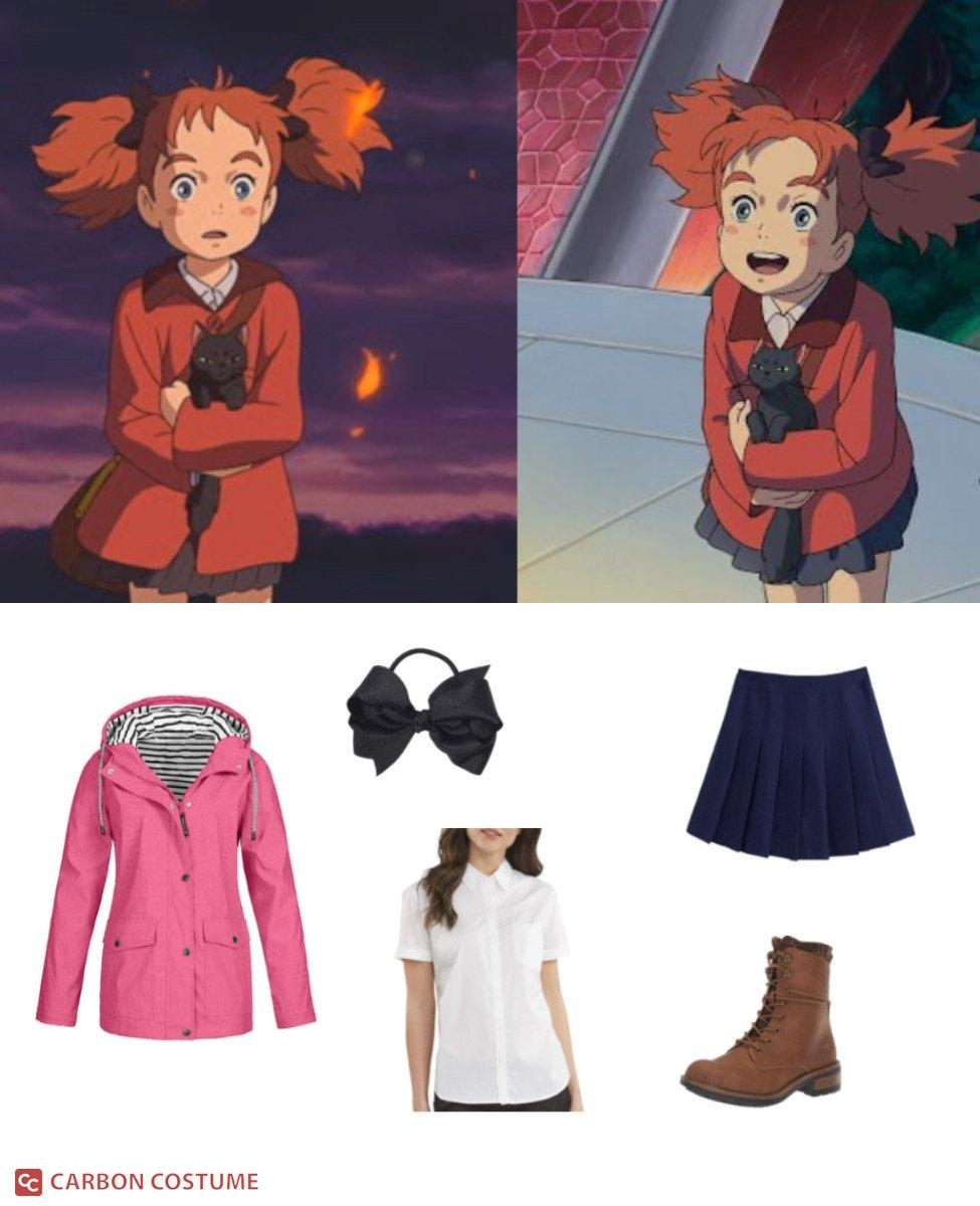 Mary from Mary and The Witch's Flower Cosplay Guide