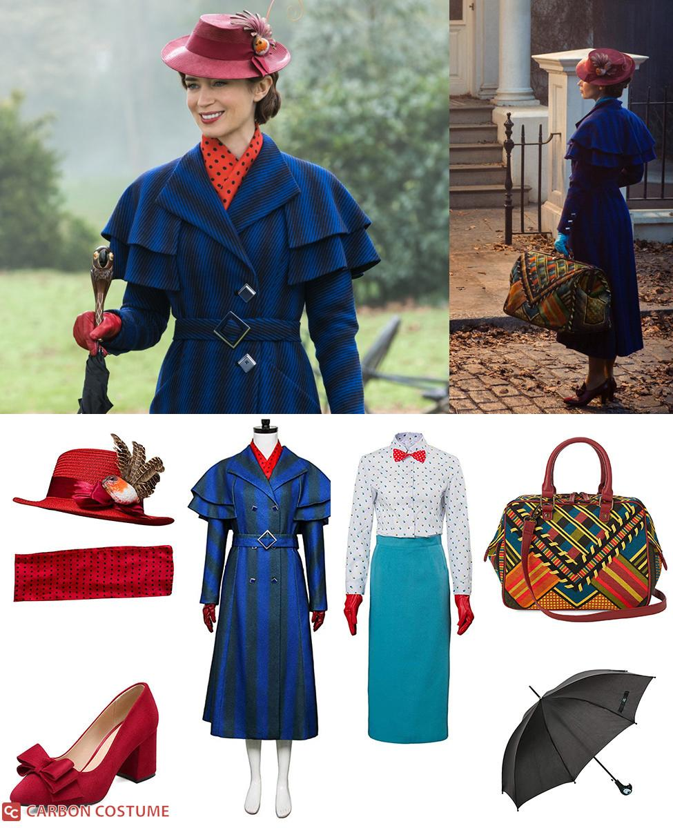 Mary Poppins from Mary Poppins Returns Cosplay Guide
