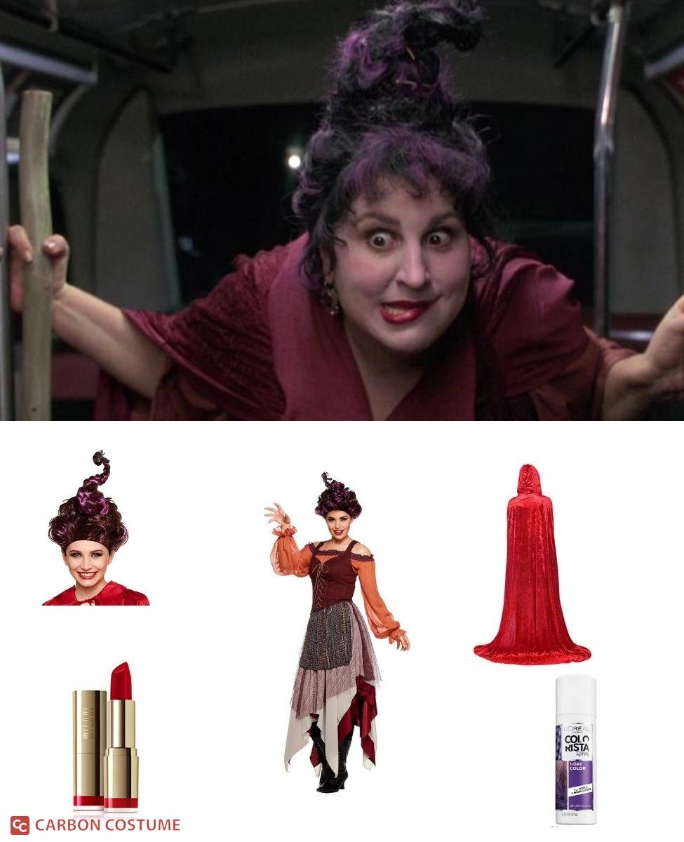 Mary Sanderson from Hocus Pocus Cosplay Guide