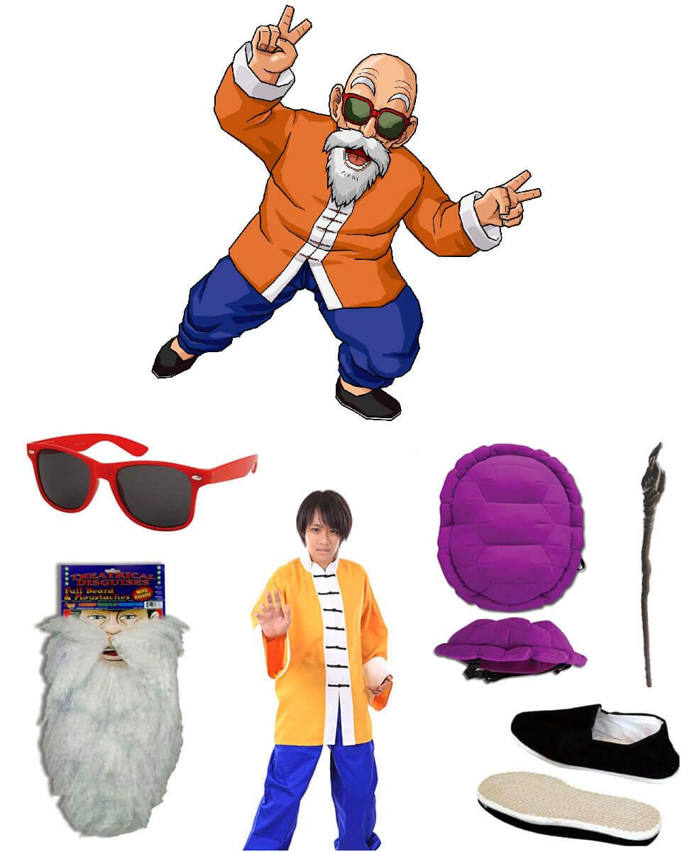Master Roshi Cosplay Guide