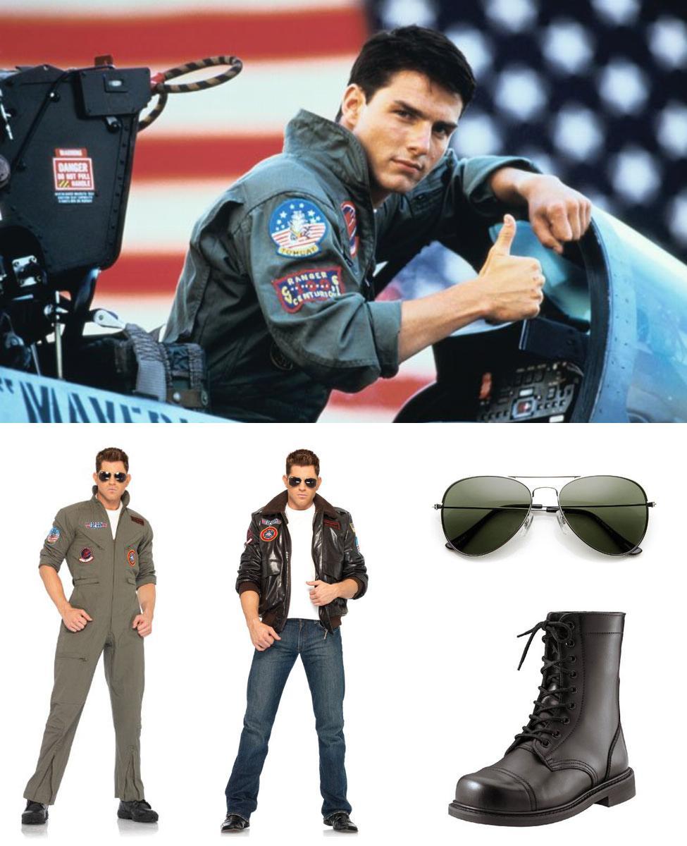 Maverick from Top Gun Cosplay Guide