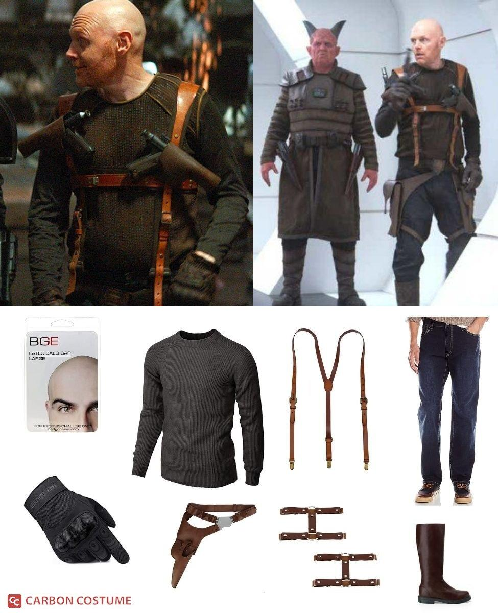 Mayfeld from The Mandalorian Cosplay Guide