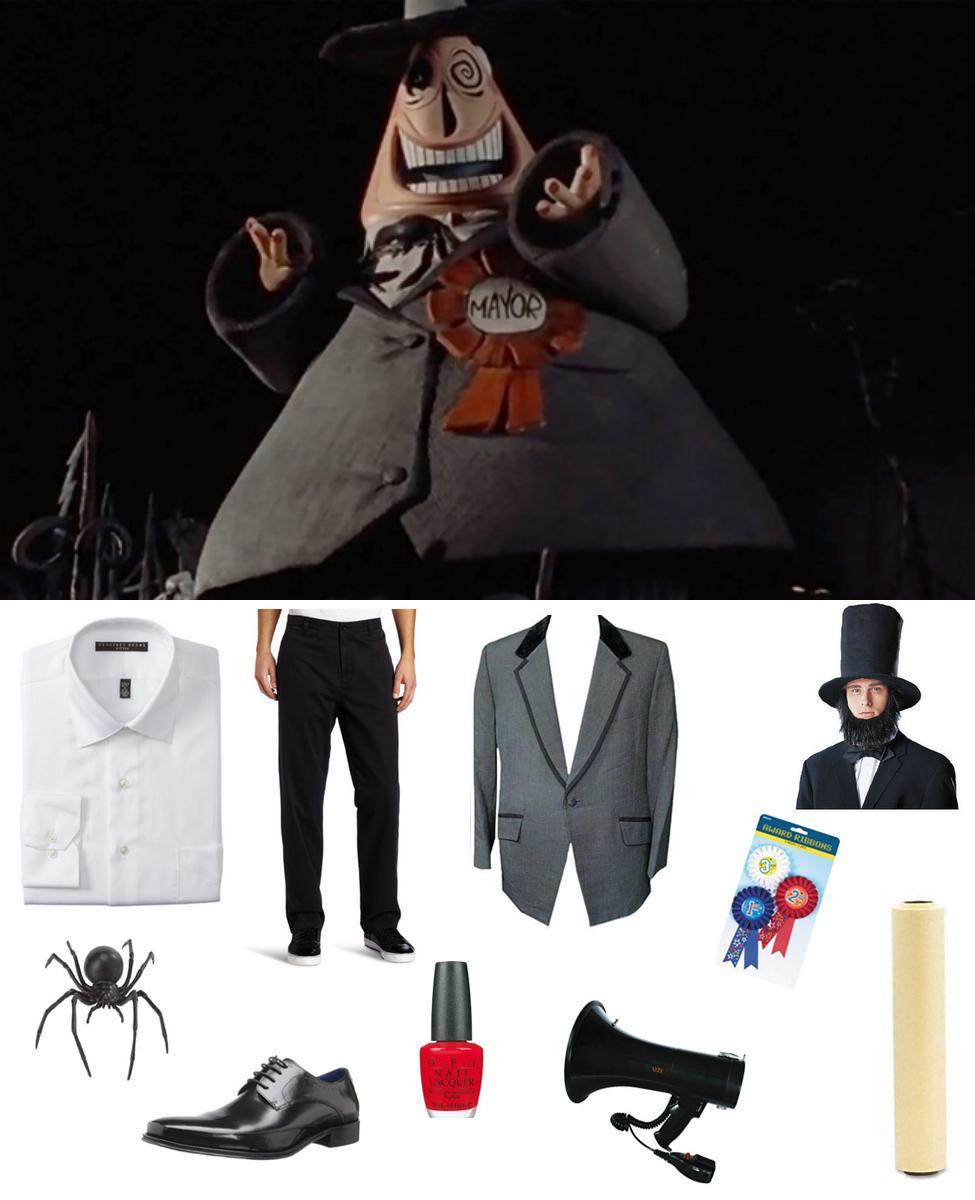 Mayor of Halloweentown Cosplay Guide