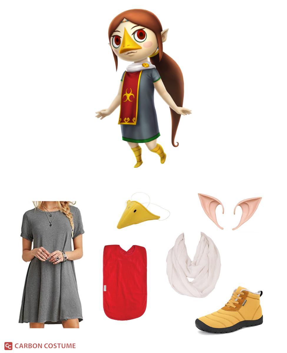 Medli from Legend of Zelda: The Wind Waker Cosplay Guide
