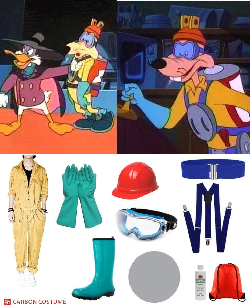 Megavolt from Darkwing Duck Cosplay Guide