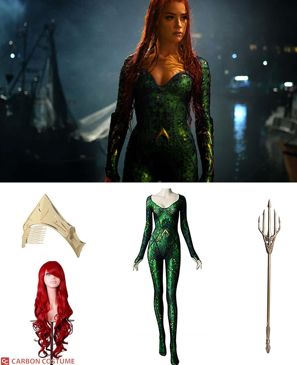 Mera from Aquaman Cosplay Guide