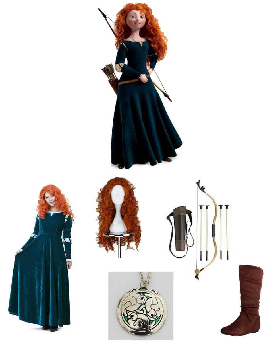 Merida from Brave Cosplay Guide