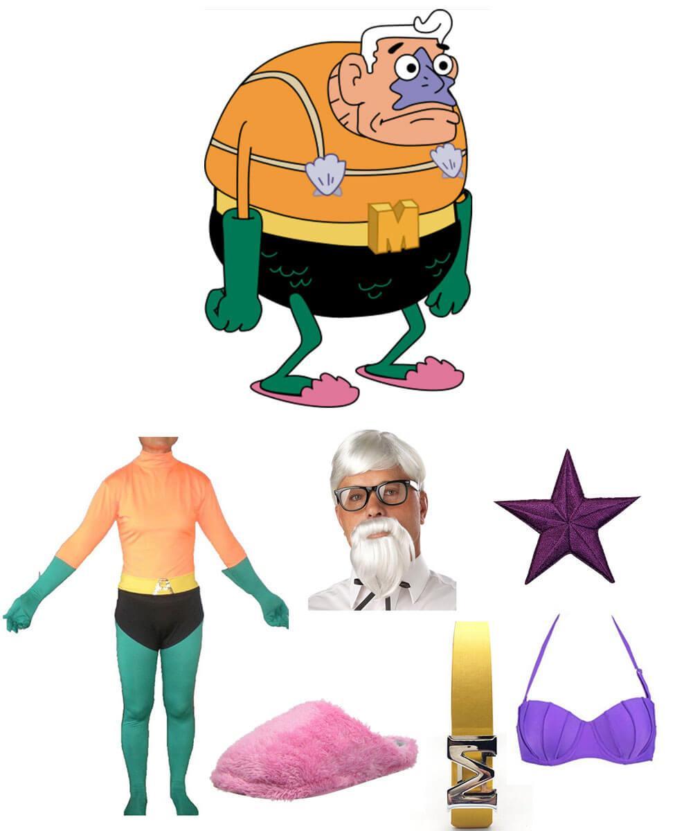 Mermaid Man Cosplay Guide