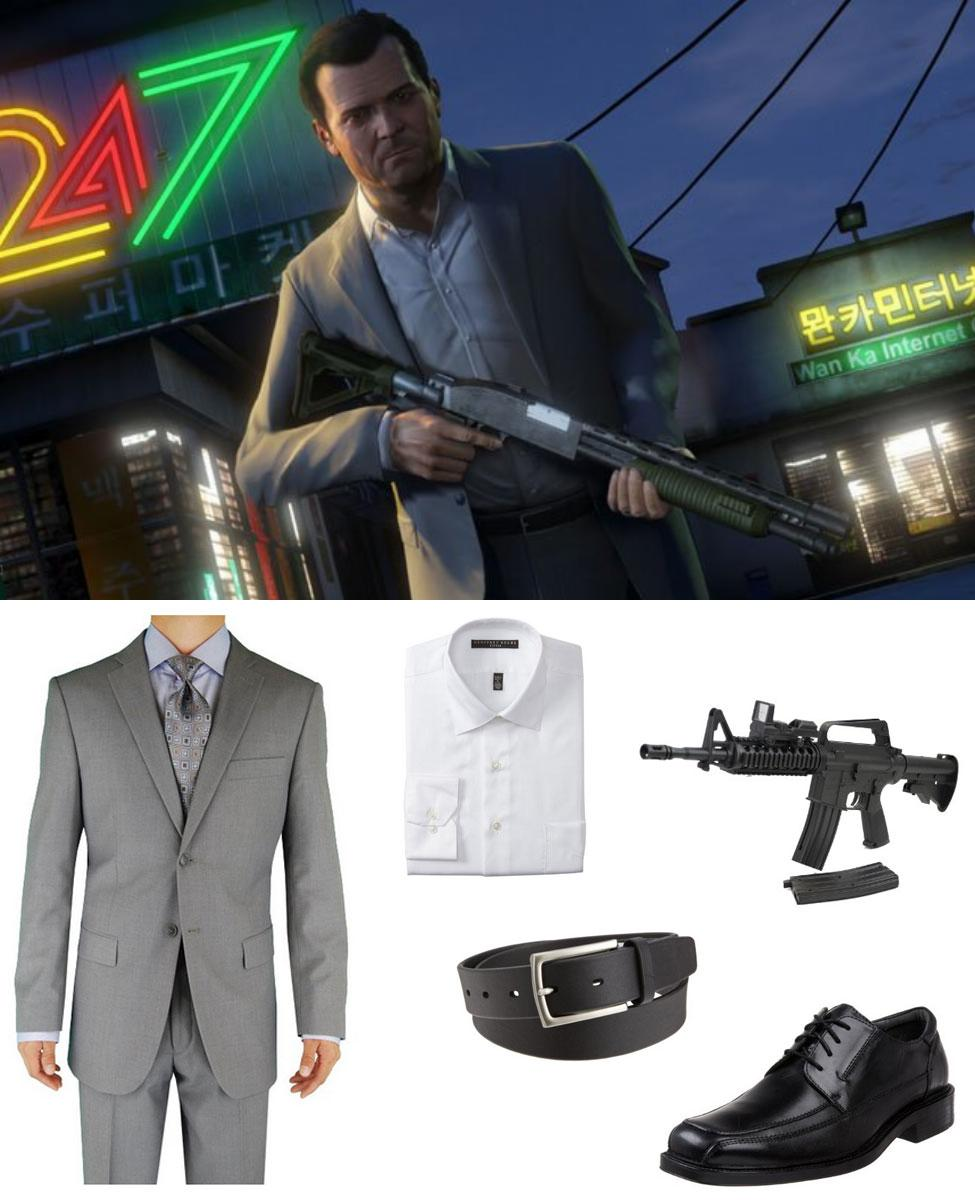 Michael from GTA5 Cosplay Guide