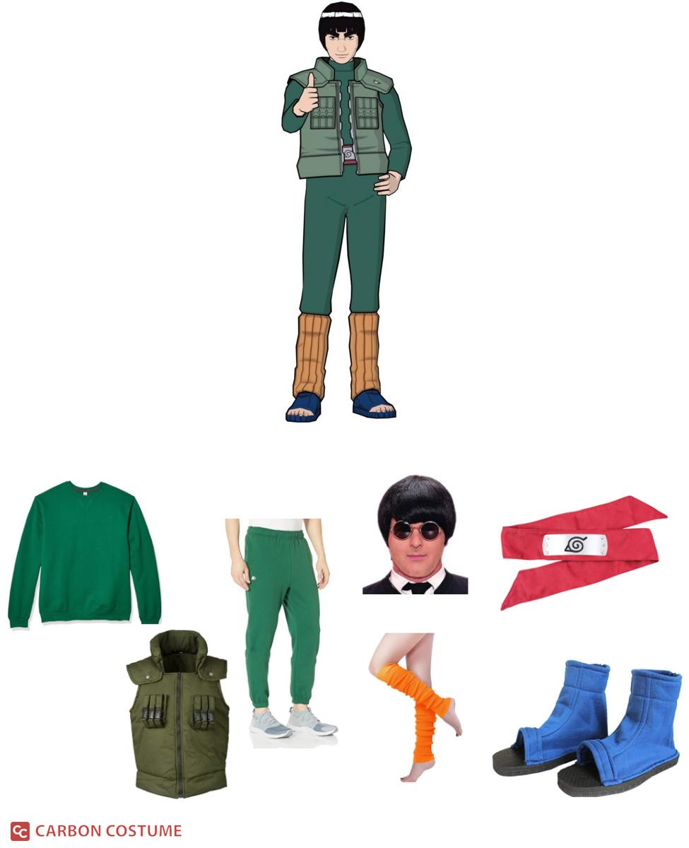 Might Guy from Naruto Cosplay Guide
