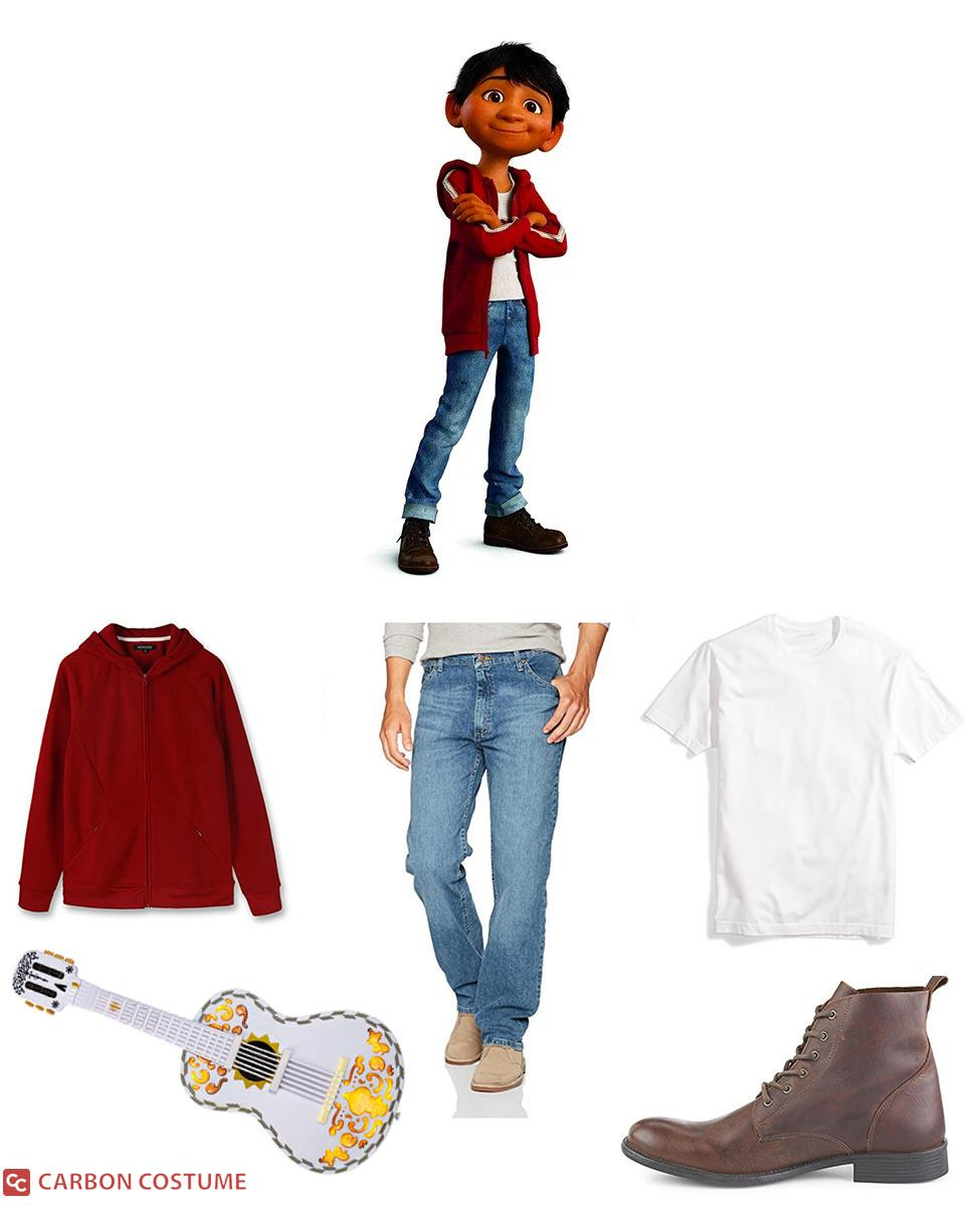 Miguel Rivera from Coco Cosplay Guide