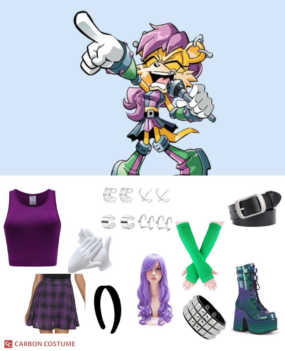 Mina Mongoose from Sonic the Hedgehog (Archie) Cosplay Guide
