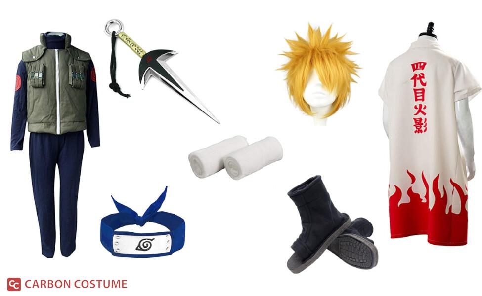 Minato Namikaze from Naruto Costume