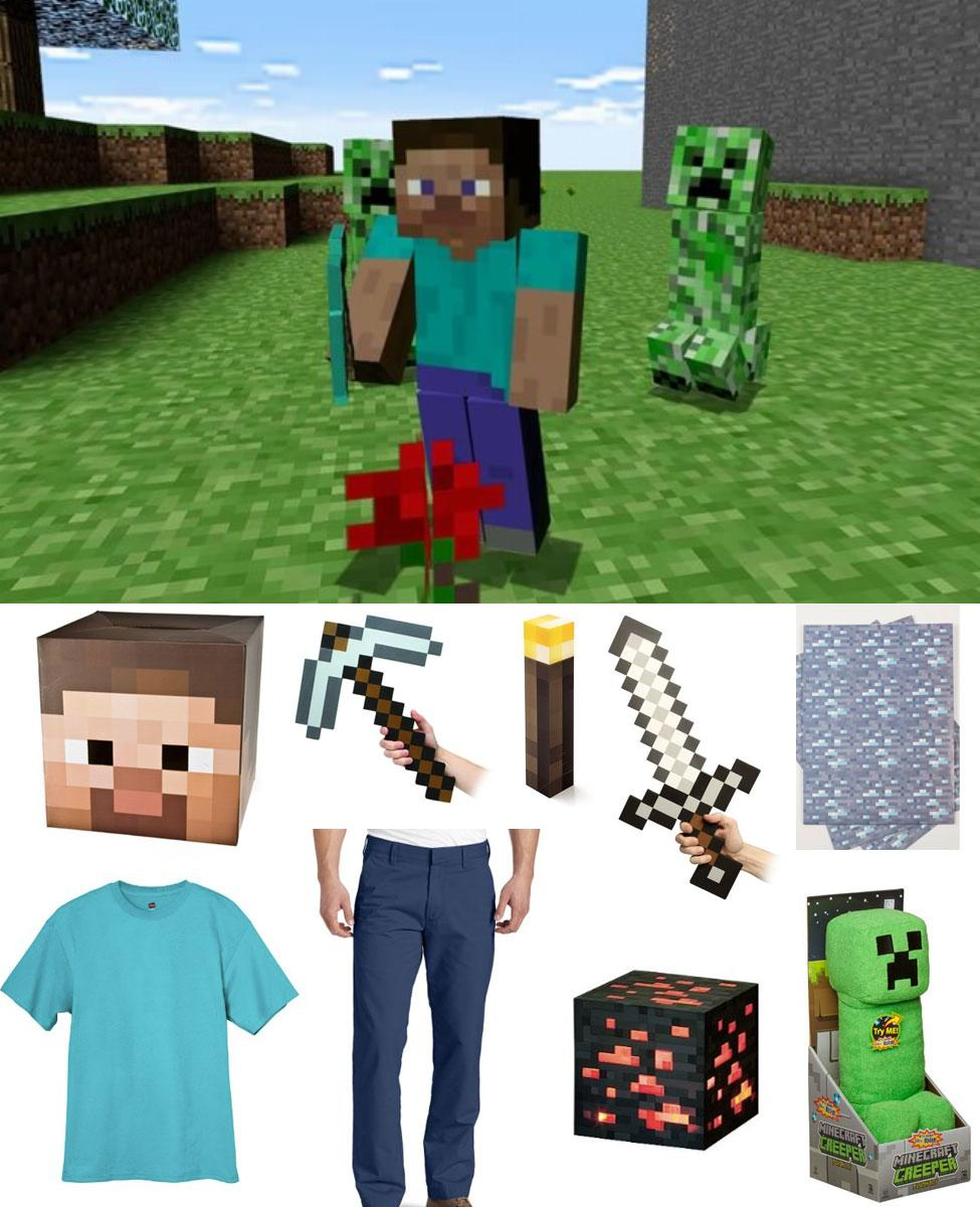 Minecraft Steve Cosplay Guide