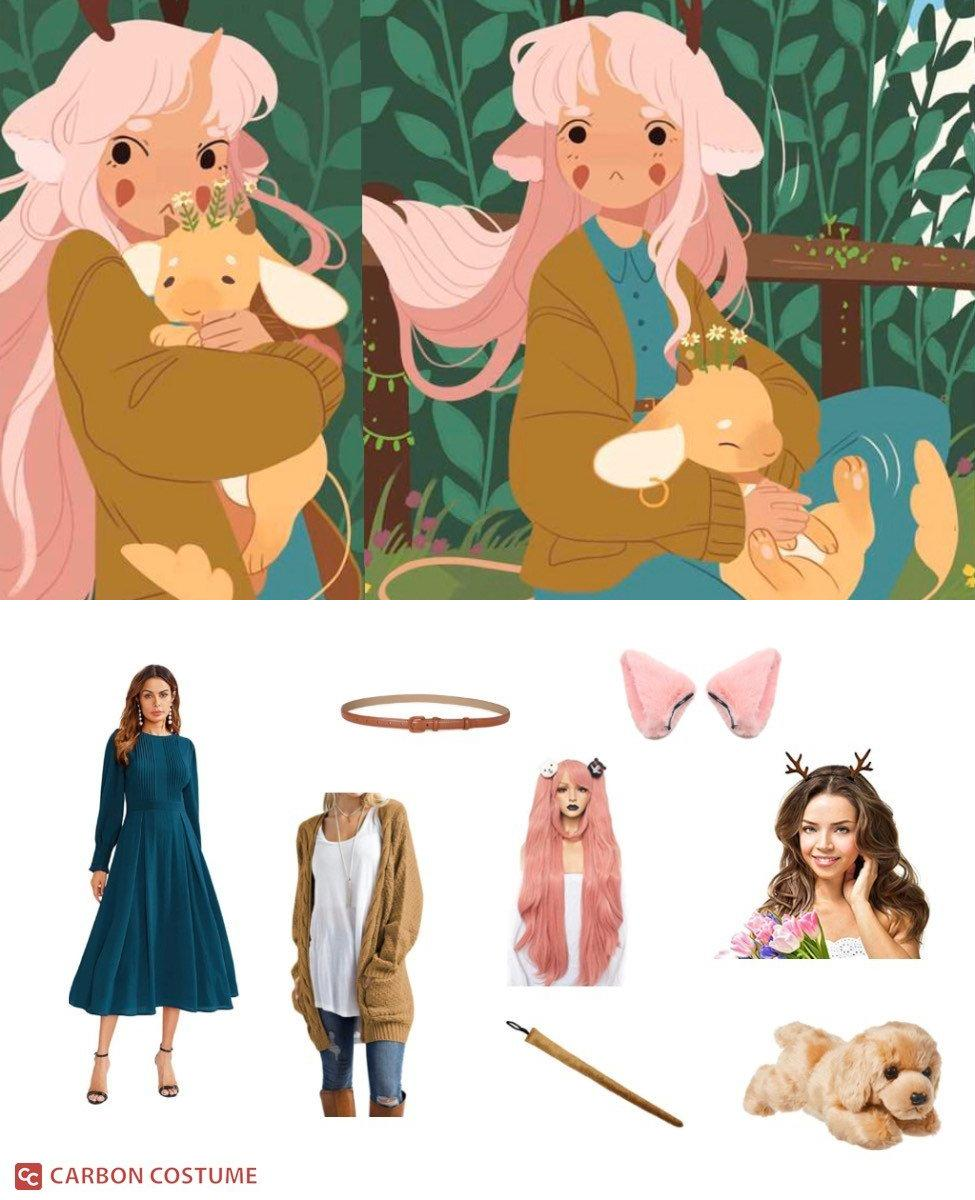 Minette from The Tea Dragon Society Cosplay Guide