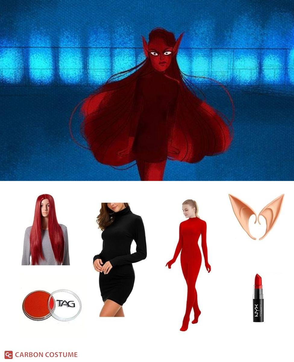 Minthe from Lore Olympus Cosplay Guide