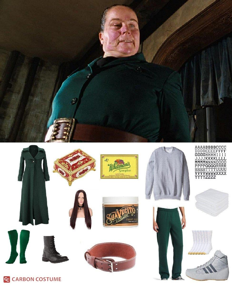 Miss Trunchbull from Matilda Cosplay Guide