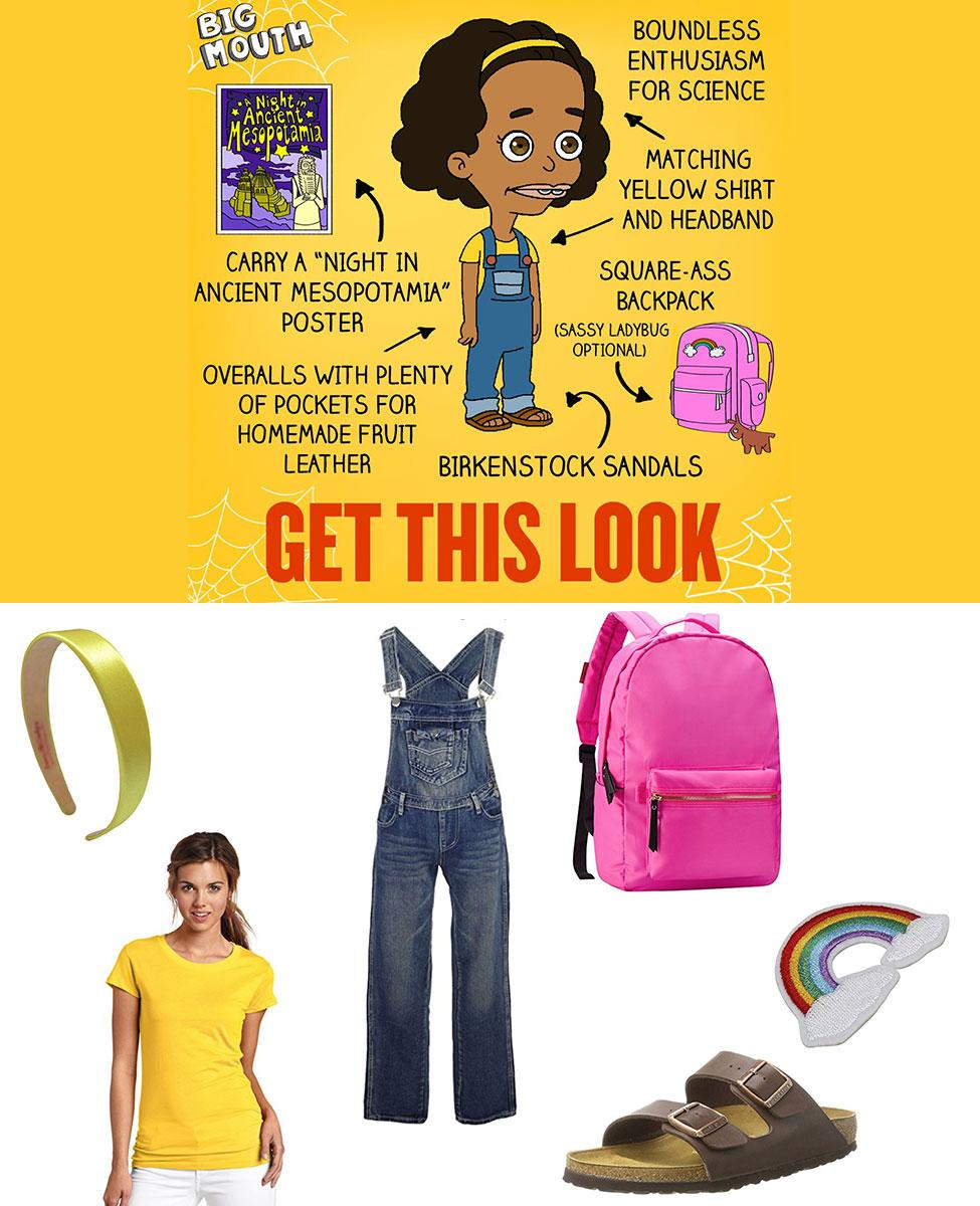 Missy from Big Mouth Cosplay Guide