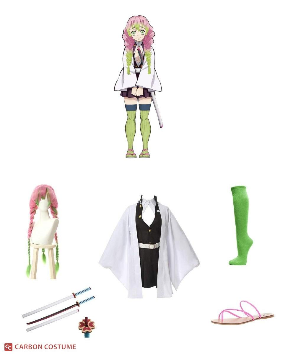 Mitsuri Kanroji from Demon Slayer Cosplay Guide