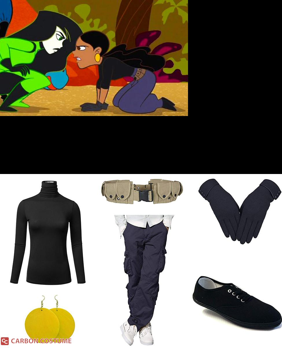 Monique from Kim Possible Cosplay Guide