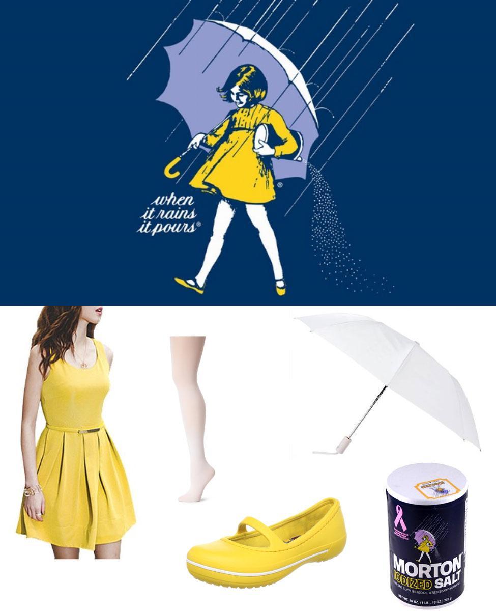 Morton Salt Umbrella Girl Cosplay Guide