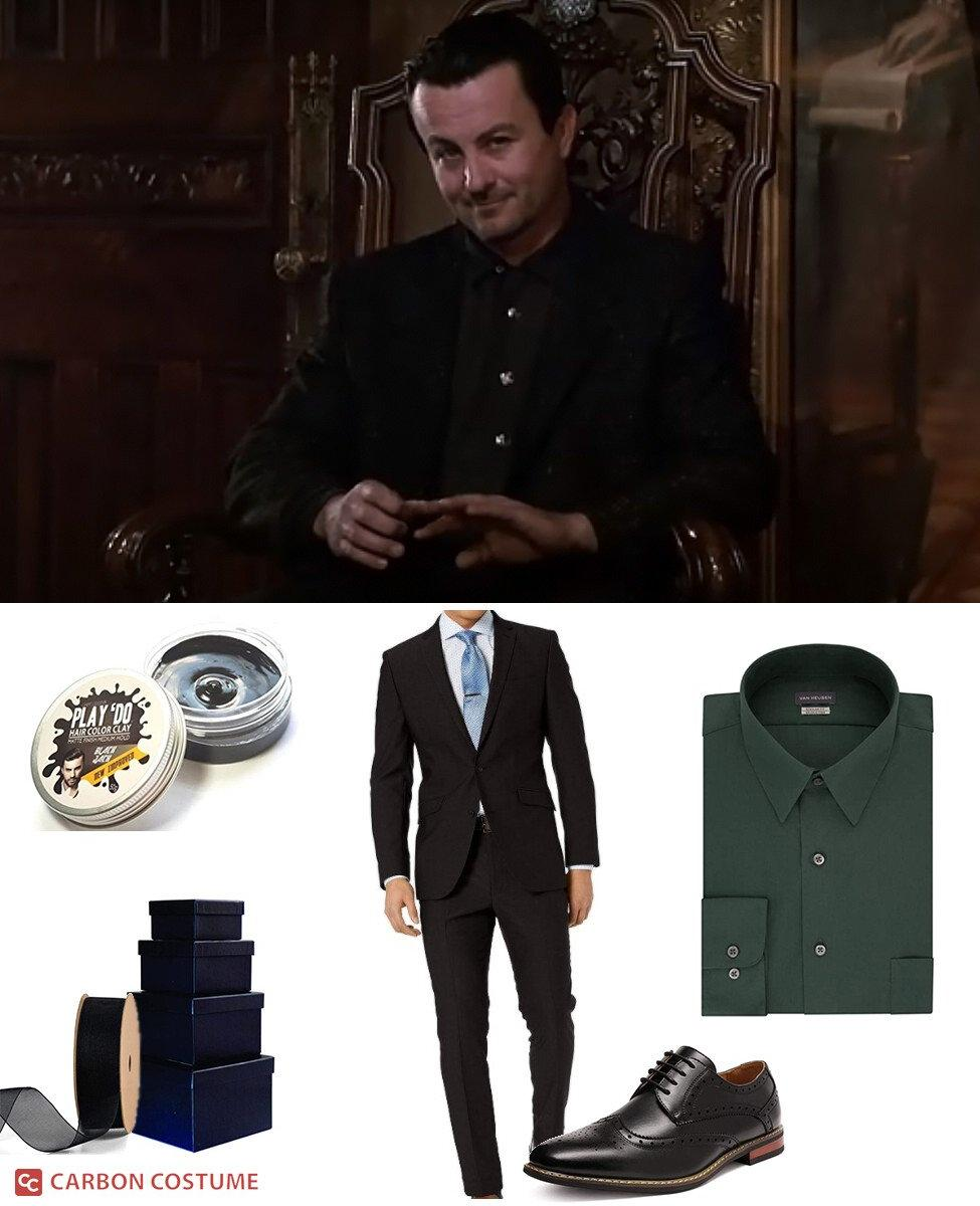 Mr. Boddy from Clue Cosplay Guide