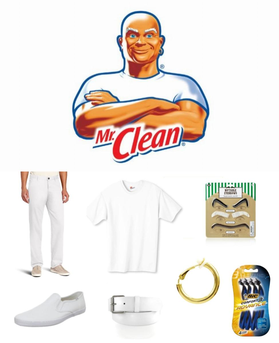 Mr. Clean Cosplay Guide