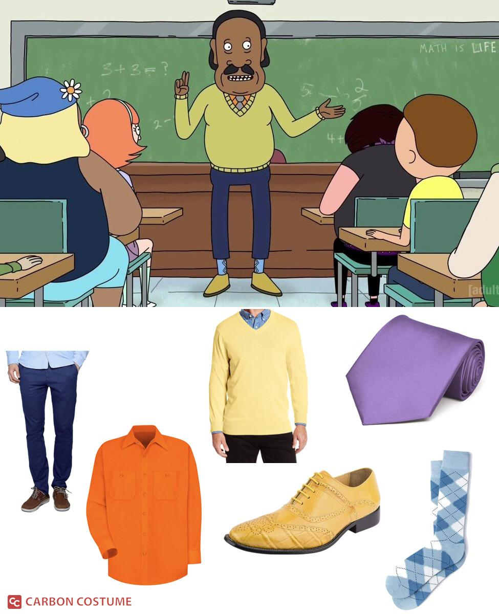 Mr. Goldenfold from Rick and Morty Cosplay Guide