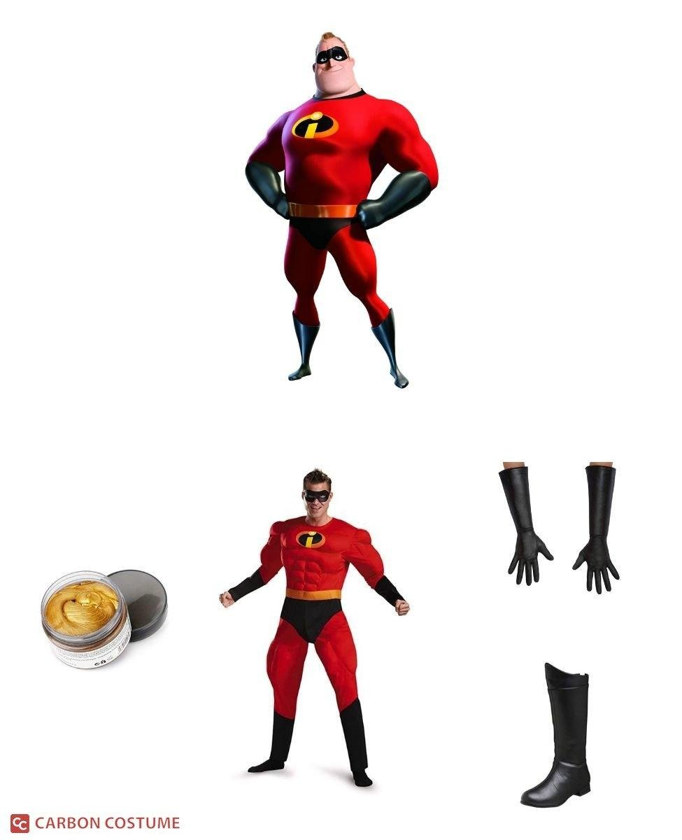 Mr. Incredible from The Incredibles Cosplay Guide