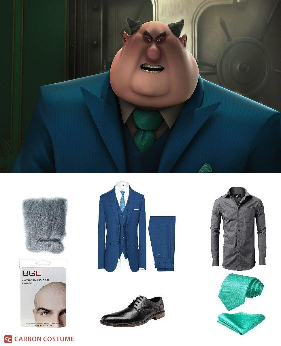 Mr. Perkins from Despicable Me Cosplay Guide