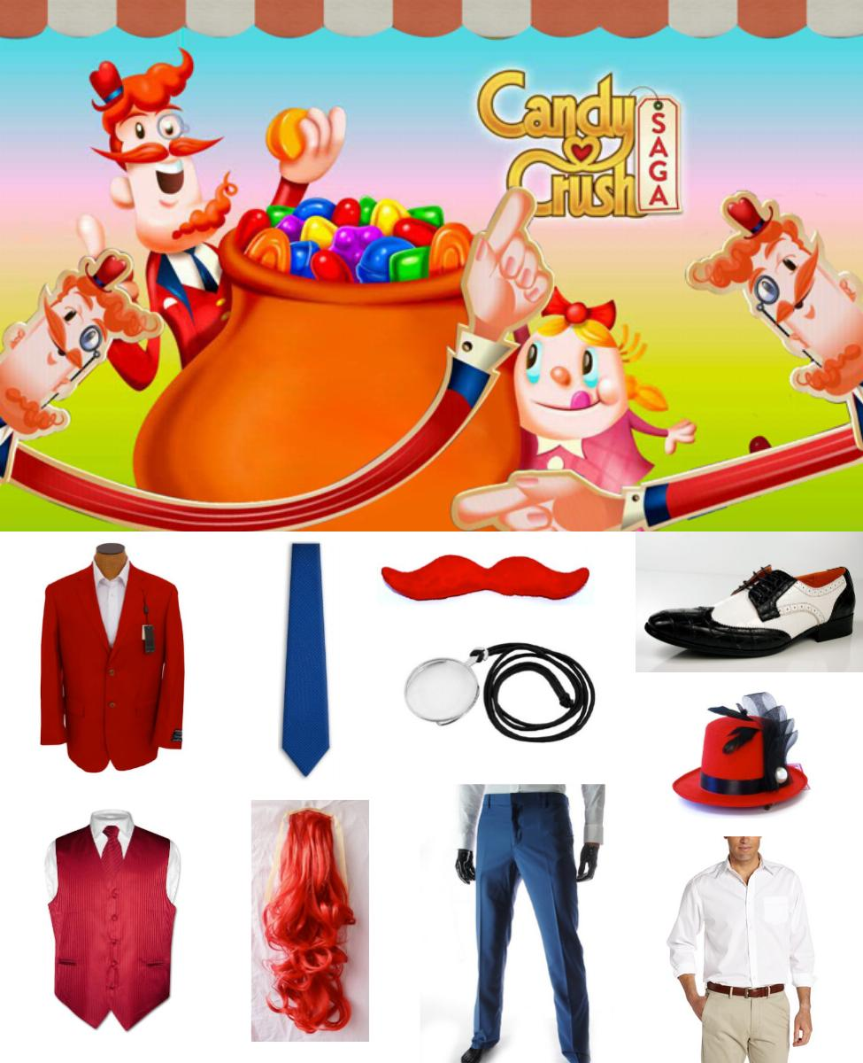 Mr. Toffee from Candy Crush Saga Cosplay Guide