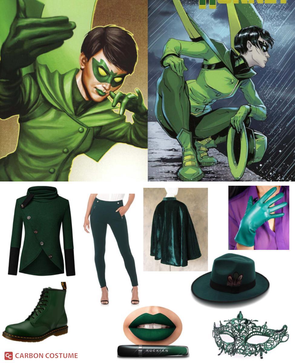 Mulan Kato as Green Hornet Cosplay Guide
